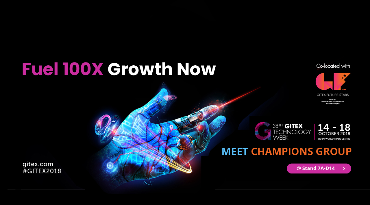 gitex banner champ group